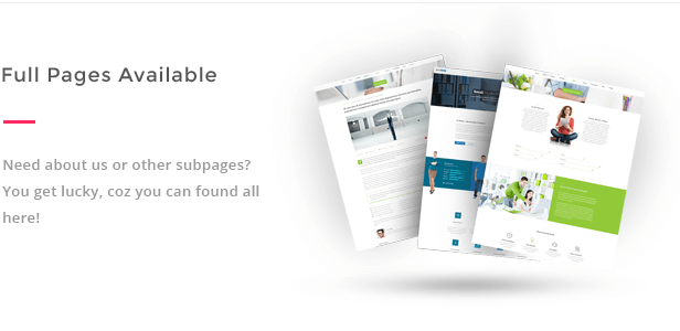 subpages available