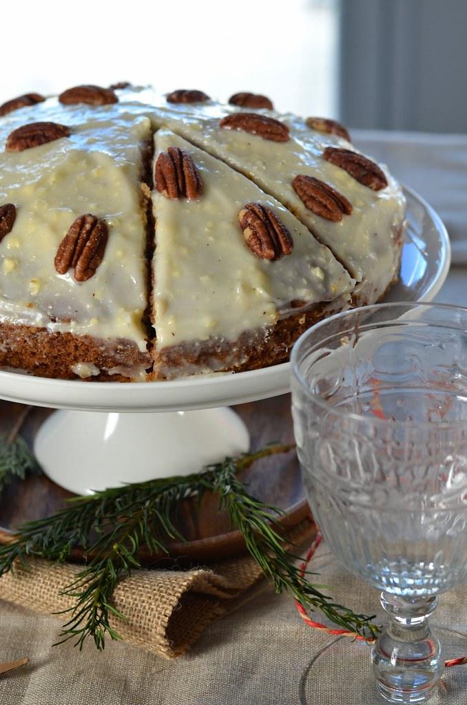 Carrot cake – Gâteau de carotte