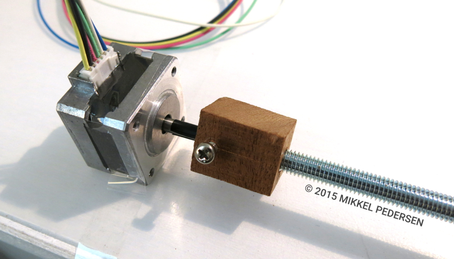 Router legotronics for Low cost stepper motor