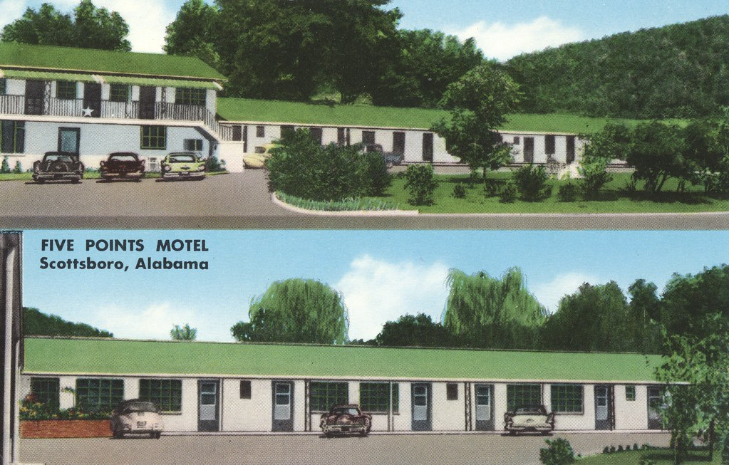 Five Points Motel - Scottsboro, Alabama