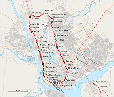 Yangon-circular-train-schedule