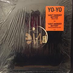 YO-YO:AIN'T NOBODY BETTER(JACKET A)