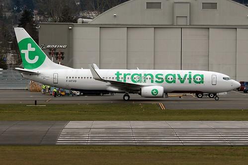 Boeing 737-8K2(WL) Transavia France F-HTVD