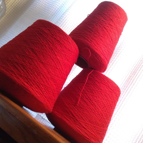 red cones