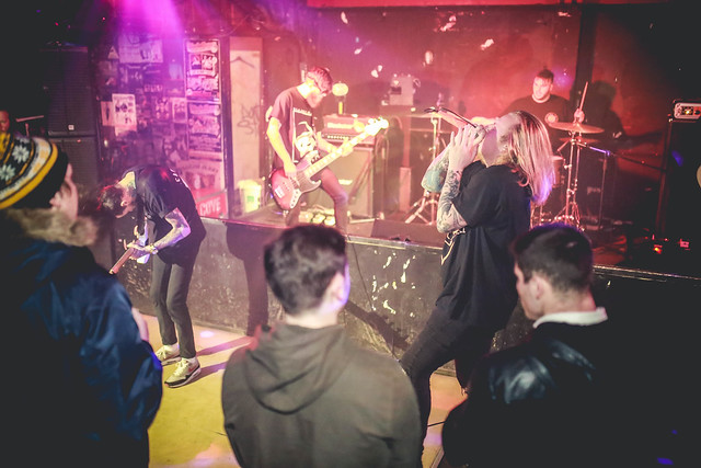 Black Coast - The Hut - 20/1/17 - Corby
