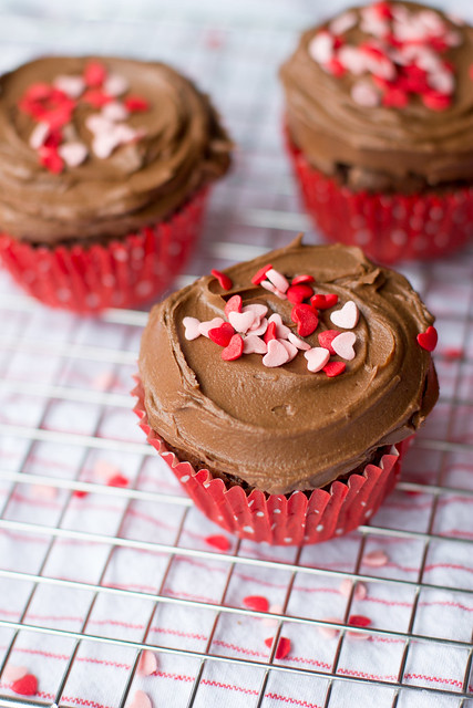 Small-batch triple chocolate cupcakes - perfect when you just need a petite treat!