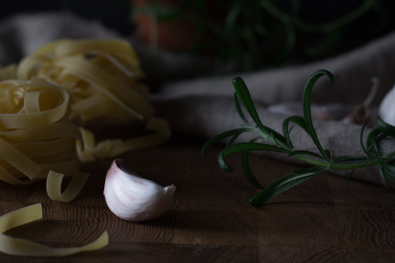 Garlic & pasta