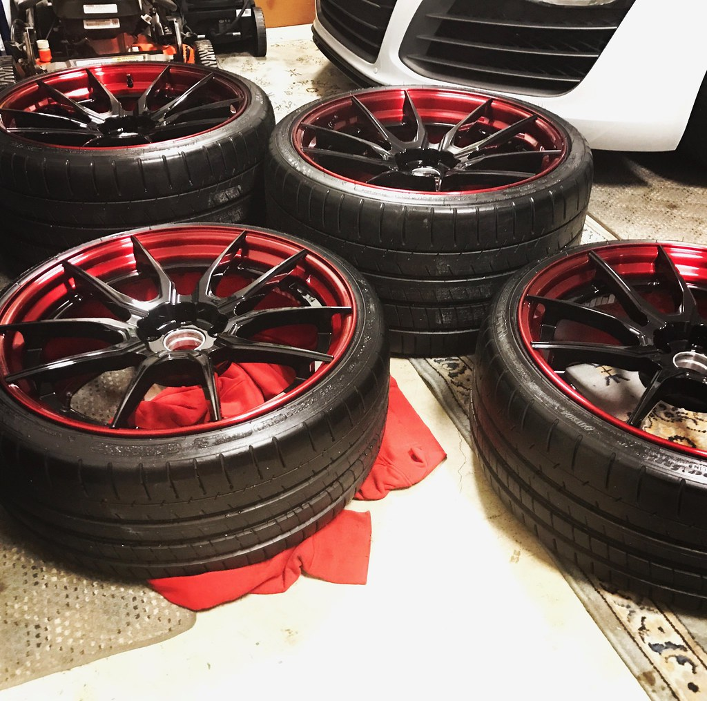 Fully Forged Wheels: R8 Offical Gallery