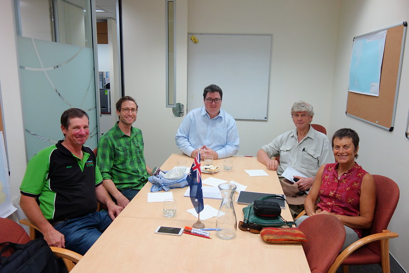 meeting with George Christensen