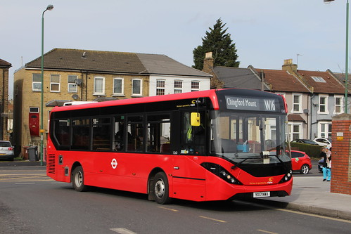CT Plus 1260 on Route W16, Leytonstone Station