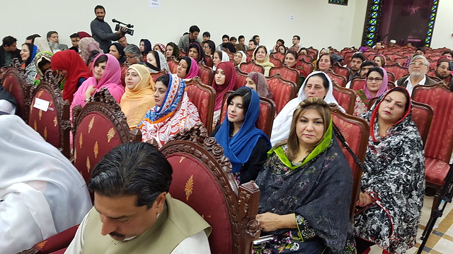 Women lawmakers boldly reaffirm their commitment towards a Planet 50:50 in Khyber Pakhtunkhwa and FATA