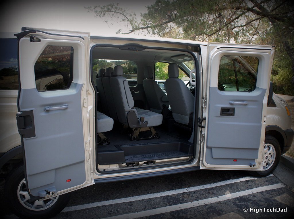... Side Doors Open - 2015 Ford Transit 150 XLT | by HighTechDad & Side Doors Open - 2015 Ford Transit 150 XLT | Photos of the u2026 | Flickr
