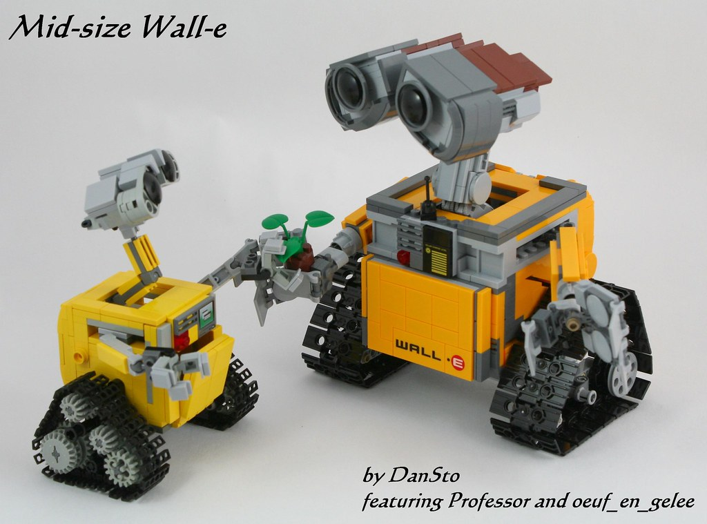 Wall E Mid Size Duo Instructions Are Available On My Blo Flickr
