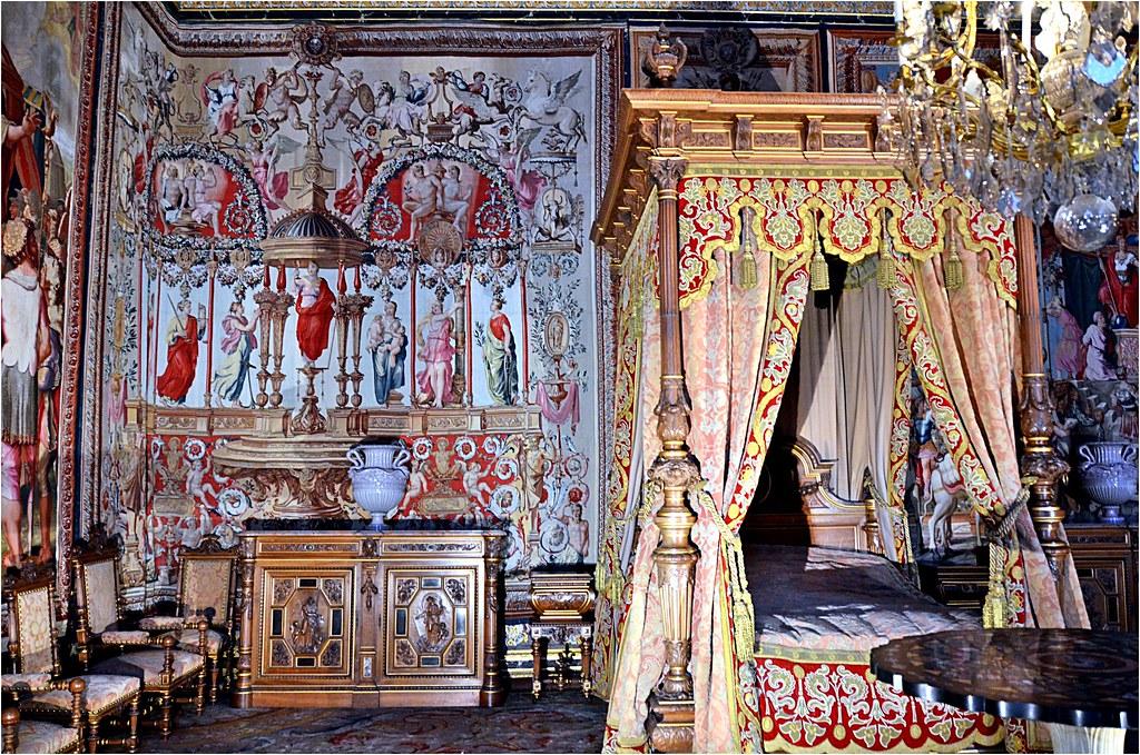 Voici La Chambre A Coucher D Anne D Autriche Le Mobilier Flickr