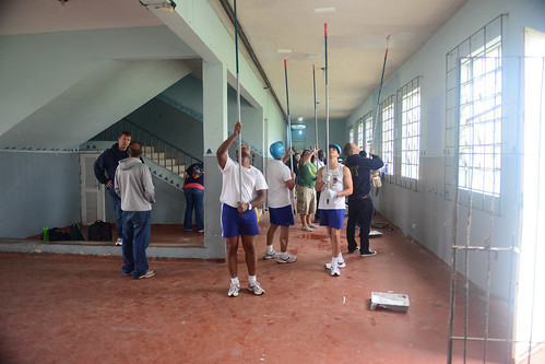 Brazilian School Welcomes UNITAS Sailors During COMREL