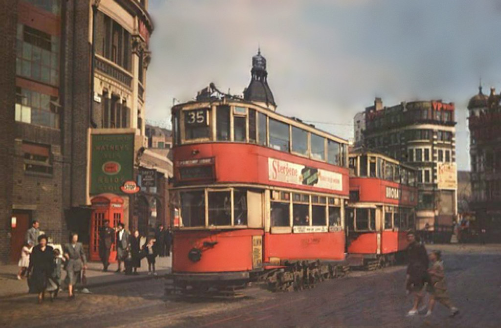London Transport Tram ...