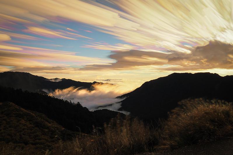 石門山日出|合歡山 Hehuanshan
