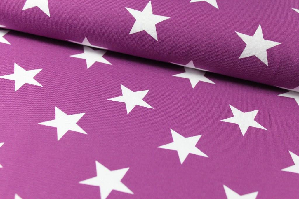 "Jersey ""Stars"", lila"
