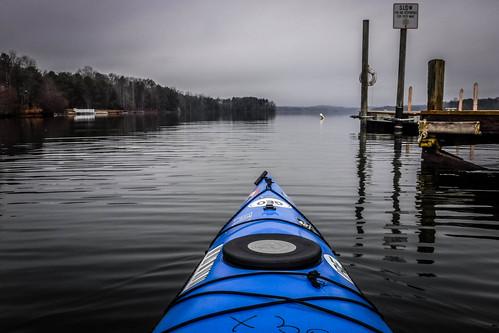 Kayaking Lake Robinson