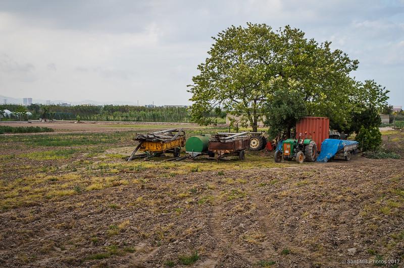 Entorno rural del Delta del Llobregat