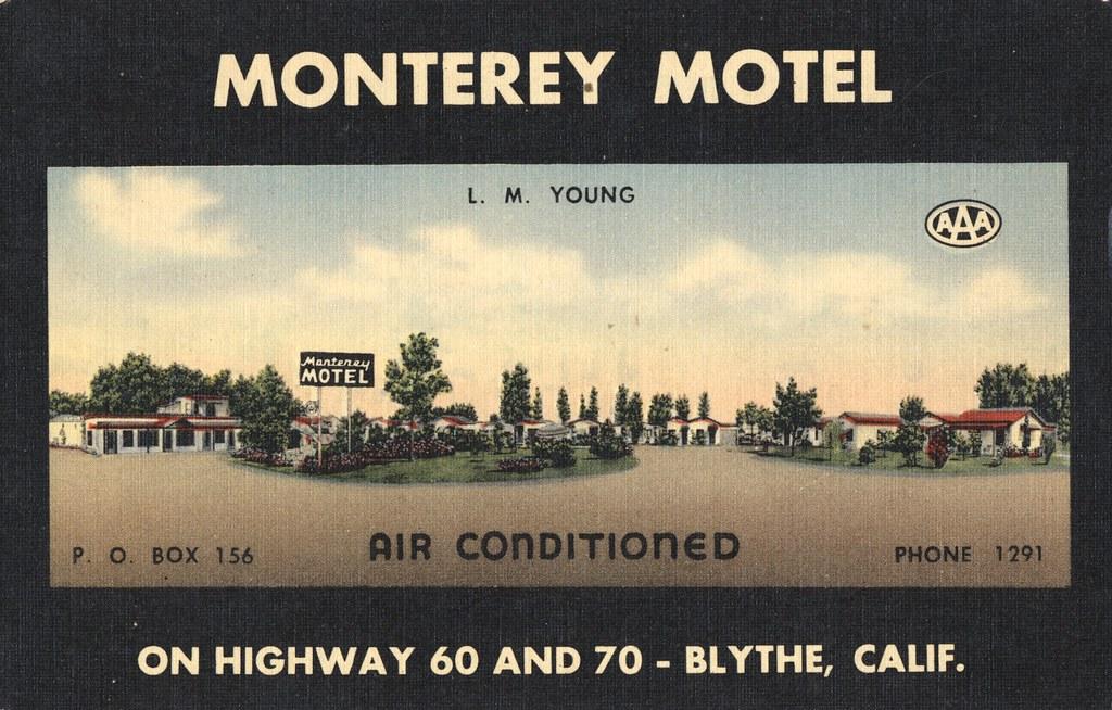 Monterey Motel - Blythe, California