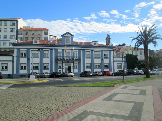 Sea Front Building, Ferrol, Galicia, Spain