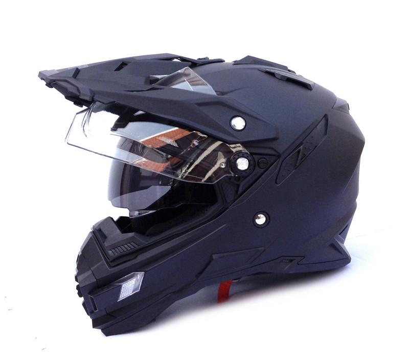 casco visiera