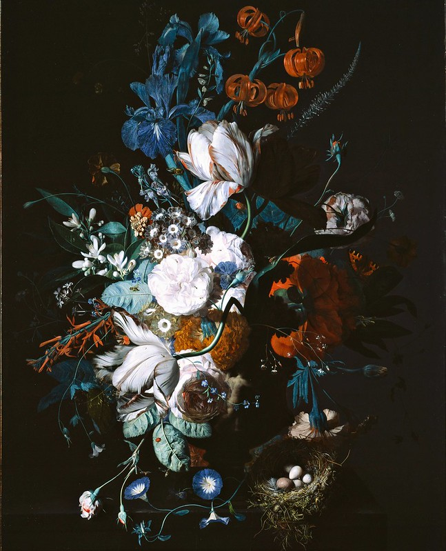 Jan van Huysum - Vase with Flowers (c.1720)