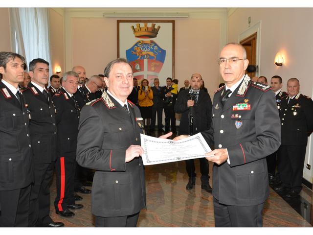 carabinieri visita generale nistri