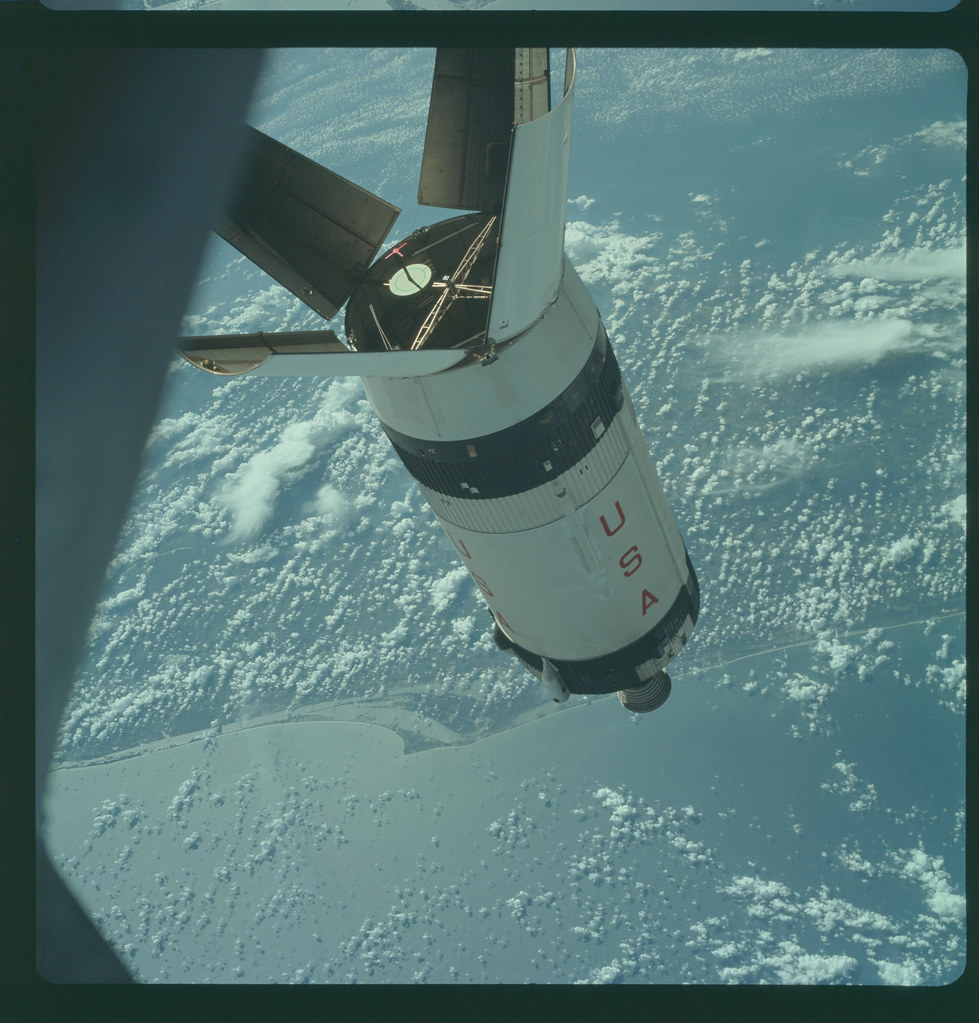 AS07-3-1545 | Apollo 7 Hasselblad image from film magazine ...