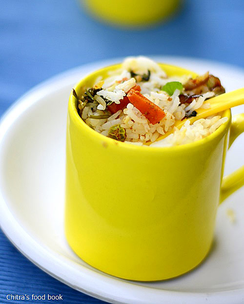 Mug biryani recipe