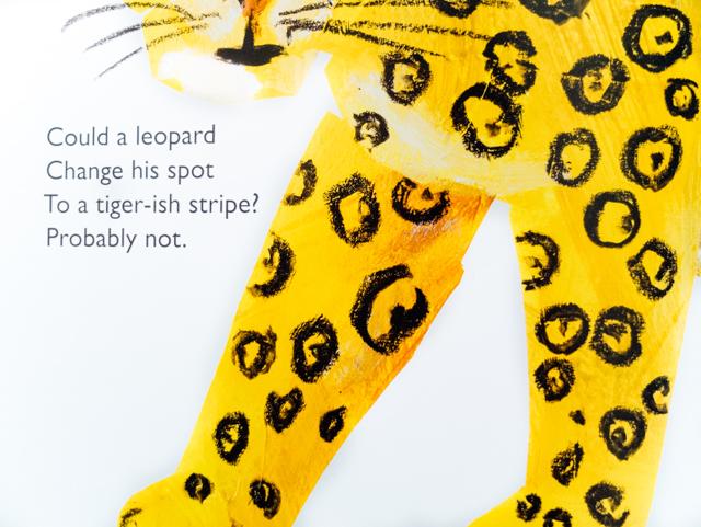 leopard close up - eric carle