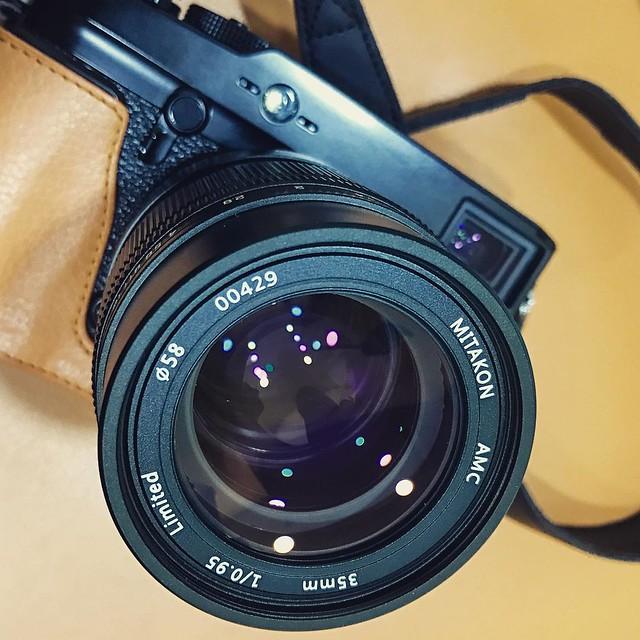 中一光學 35mm f0.95