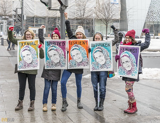 manif des femmes women's march montreal 03 | by Eva Blue