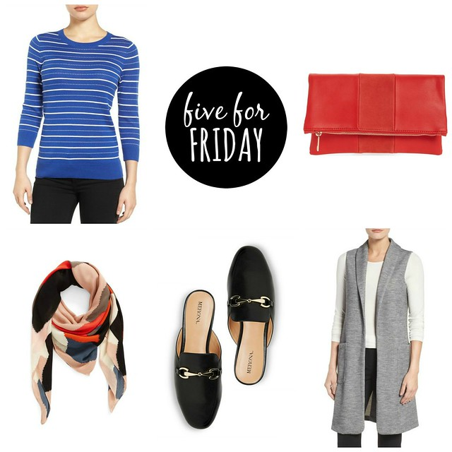 five for friday current finds spring 2017 | Style On Target blog
