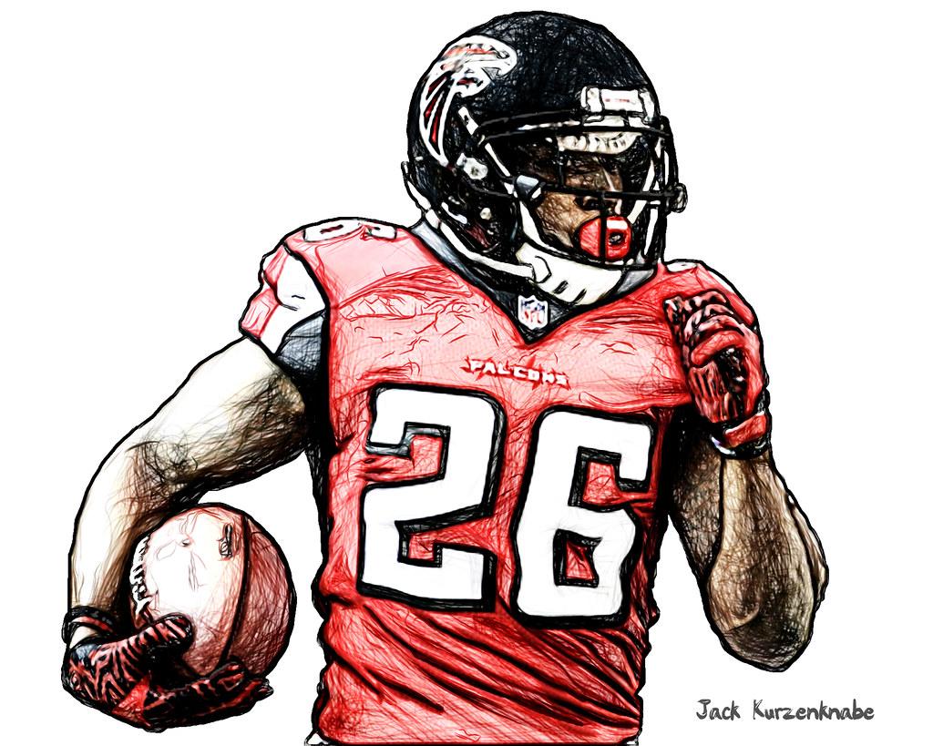 Atlanta Falcons Tevin Coleman View all my NFL drawings b…