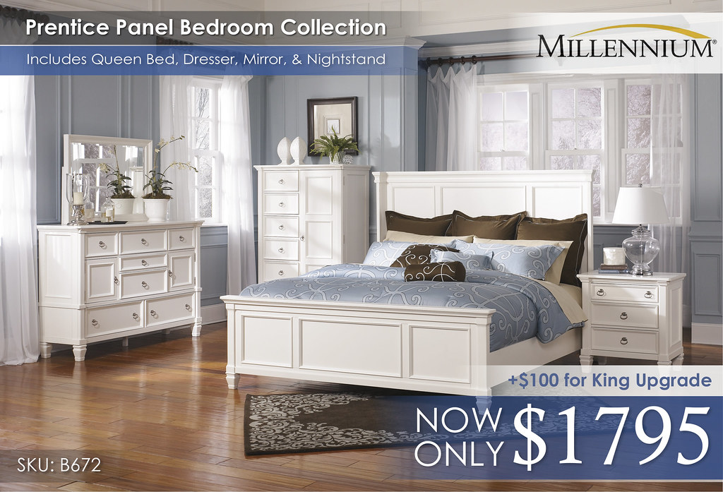 Prentice Panel Bedroom Set B672-31-36-48-58-56-97-93