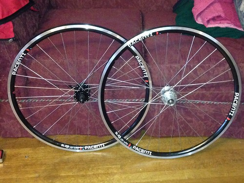 And a new wheelset for the kit bike