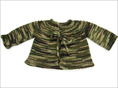 Camo Baby Sweater, complete