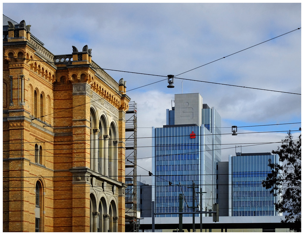 Moderne Fassade moderne fassade am hauptbahnhof hannover udo afalter flickr