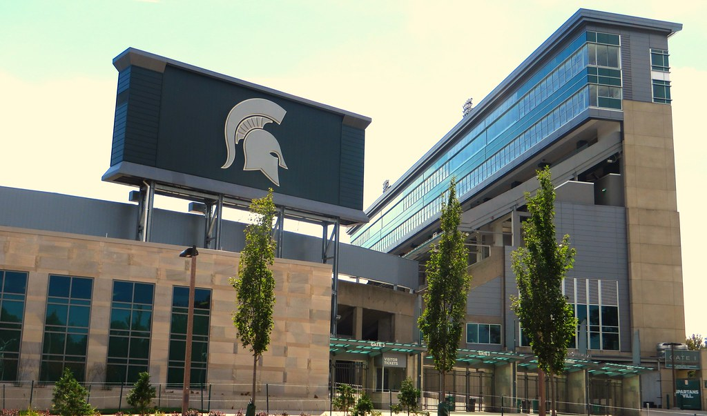 ... Home of the Michigan State University Spartans, East Lansing, Michigan -