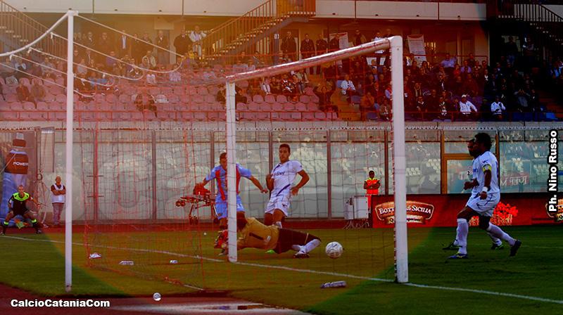 Un flash di Catania-Akragas 1-1 della stagione 2015-16