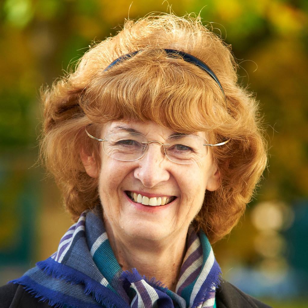Portrait of Sue Wonnacott