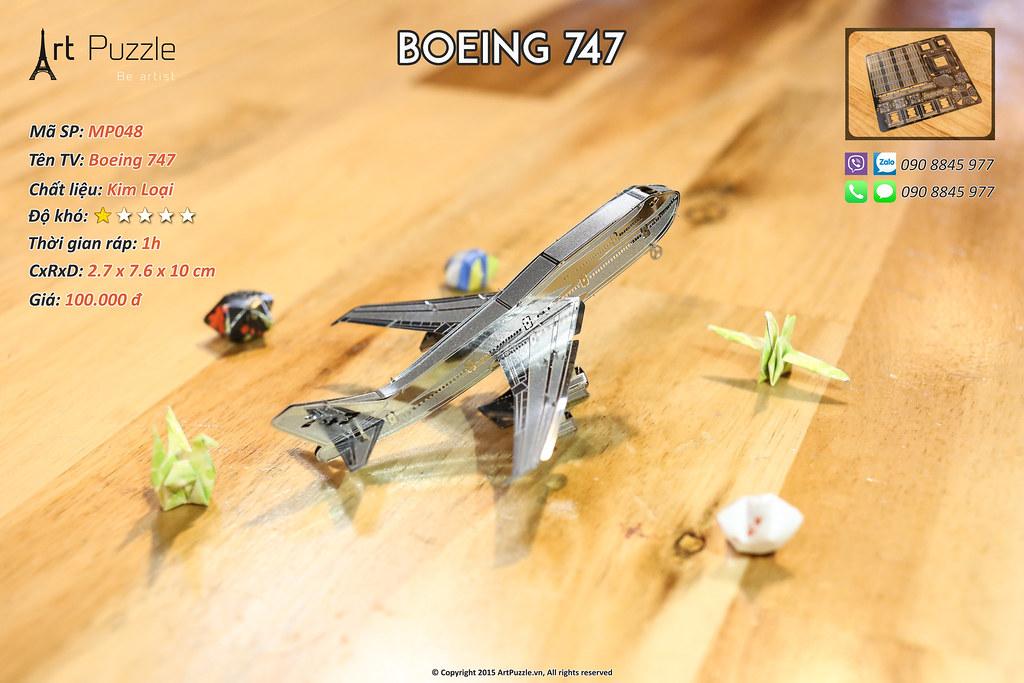 Art Puzzle - Chuyên mô hình kim loại (kiến trúc, tàu, xe tăng...) tinh tế và sắc sảo - 49