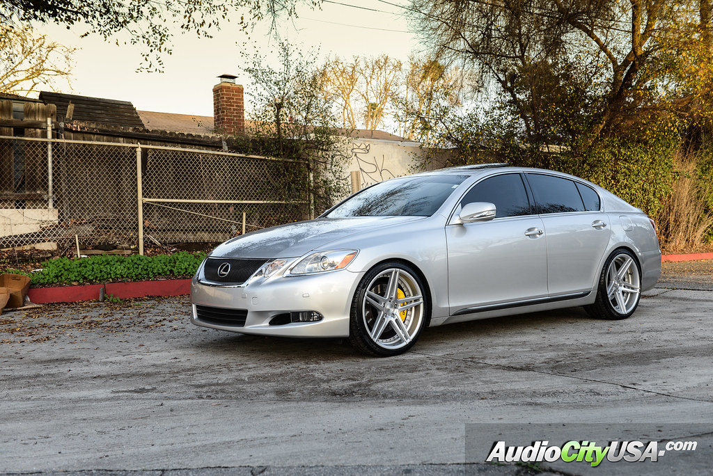 2009 lexus gs 460 20quot rennen wheels csl 3 silver machine