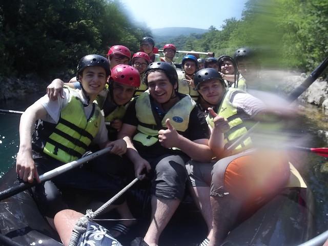 novi Neretva Kanyon Rafting downn
