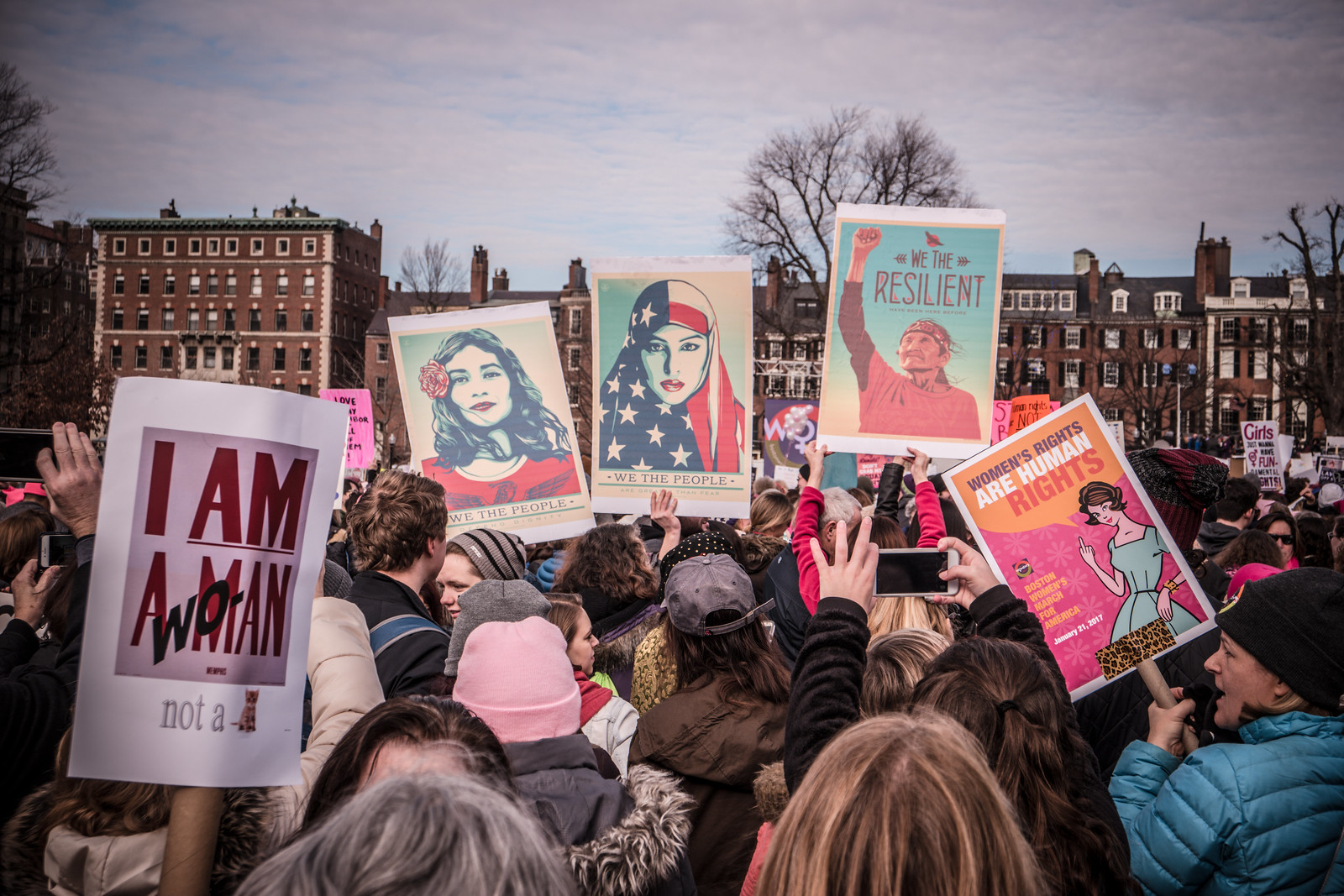 Women's March Boston