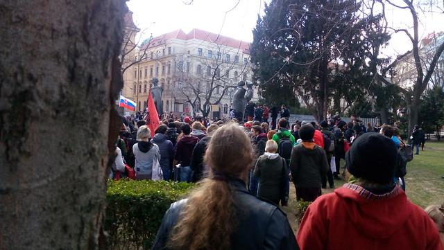 17_03_11_Antifašistická mobilizace Bratislava