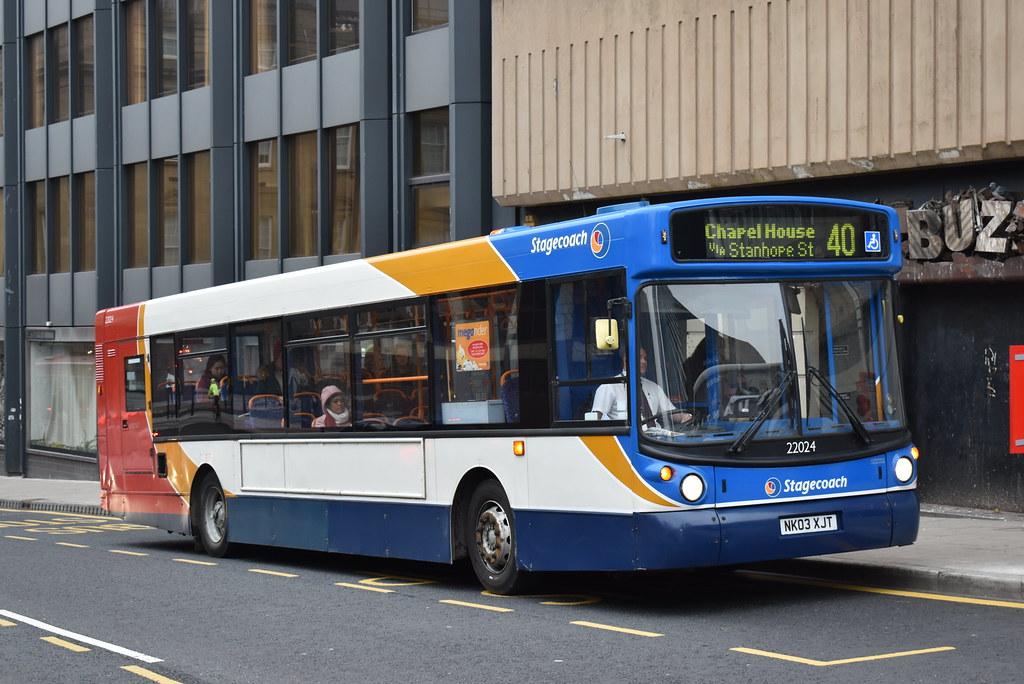 ... 22024 NK03XJT Newcastle 40 | by Matt D Williamson
