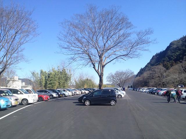 金華山 岐阜公園第3駐車場
